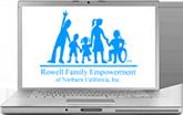 RFENC logo on a MacBook screen